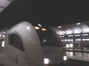 Ein Siemens Desiro ML der trans regio Richtung Trier.